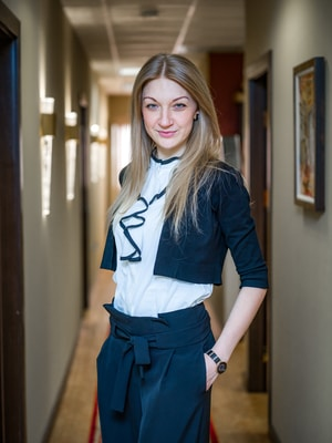 Olga Hryshkevich IS Law Firm employee